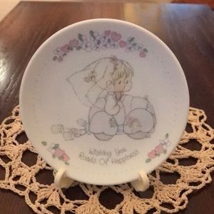 Precious Moments Wedding Plate